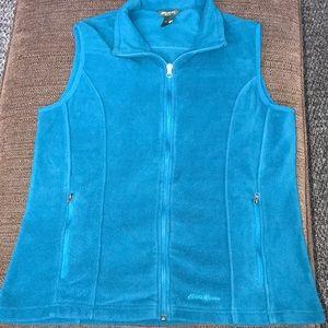 Eddie Bauer polar fleece sleeveless vest. XL